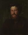 William Morris, by George Frederic Watts - NPG 1078