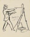 Sir Alfred James Munnings, by Sir Alfred James Munnings - NPG 4136
