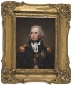 Horatio Nelson, by Henry Pierce Bone, after  Lemuel Francis Abbott - NPG 6294
