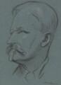 Henry Woodd Nevinson, by Sir William Rothenstein - NPG 3316