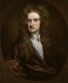 Sir Isaac Newton, by Sir Godfrey Kneller, Bt - NPG 2881