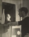 Ben Nicholson, by Humphrey Spender - NPG P42