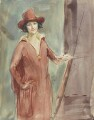 Bess Norriss (Mrs Tait), probably by Bess Norriss (Mrs Tait) - NPG 4054