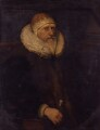 Unknown man, formerly known as Charles Howard, 1st Earl of Nottingham, by Unknown artist - NPG 1931