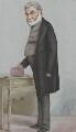 Sir Anthony Panizzi, by Carlo Pellegrini - NPG 2736