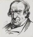 Samuel Phelps, by Harry Furniss - NPG 3503