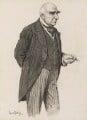Sir Arthur Wing Pinero, by Sir (John) Bernard Partridge - NPG 3675