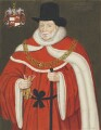 Sir John Popham, copy by George Perfect Harding, after  Unknown artist - NPG 2405