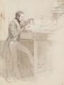 Winthrop Mackworth Praed, by Daniel Maclise - NPG 3030