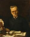 Hodgson Pratt, by Felix Moscheles - NPG 2032