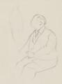 J.B. Priestley, by Sir David Low - NPG 4529(281)