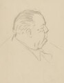 J.B. Priestley, by Sir David Low - NPG 4529(283)
