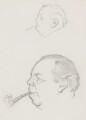 J.B. Priestley, by Sir David Low - NPG 4529(285)