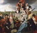 The Sharp Family, by Johan Joseph Zoffany - NPG L169