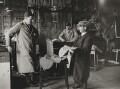 Sir Gordon Richards at Newmarket, by Felix H. Man (Hans Baumann) - NPG P17