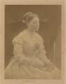 Anne Isabella (née Thackeray), Lady Ritchie, by Julia Margaret Cameron - NPG P53