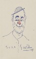 George Robey, by Sir George Robey (George Edward Wade) - NPG 3939