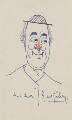 George Robey, by Sir George Robey (George Edward Wade) - NPG 3939a