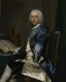 Sir Thomas Robinson, 1st Bt, by Frans van der Mijn (or Myn) - NPG 5275