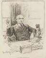 Sir Landon Ronald, by Sir (John) Bernard Partridge - NPG 3676