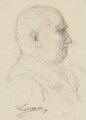 Sir Edward Denison Ross, by Frank Kovacs - NPG 4203b