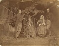 The Rossetti Family, by Lewis Carroll (Charles Lutwidge Dodgson) - NPG P56