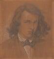 Dante Gabriel Rossetti, by Dante Gabriel Rossetti - NPG 857