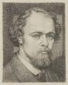 Dante Gabriel Rossetti, by Dante Gabriel Rossetti - NPG 3033