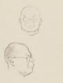 John Rothenstein, by Sir David Low - NPG 4529(318)
