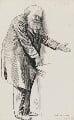 Robert Gascoyne-Cecil, 3rd Marquess of Salisbury, by Harry Furniss - NPG 3410