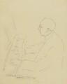 Cecil Sharp, by Esther Blaikie Mackinnon - NPG 2518