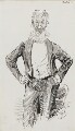 George Bernard Shaw, by Harry Furniss - NPG 3604