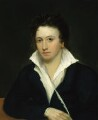 Percy Bysshe Shelley, by Alfred Clint, after  Amelia Curran, and  Edward Ellerker Williams - NPG 1271