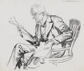 Robert Lowe, 1st Viscount Sherbrooke, by Harry Furniss - NPG 3606