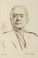 Sir Charles Scott Sherrington, by Reginald Grenville Eves - NPG 3829