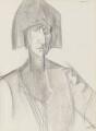 Edith Sitwell, by (Percy) Wyndham Lewis - NPG 4464