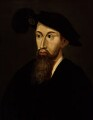 Unknown man, formerly known as Edward Seymour, 1st Duke of Somerset, by Unknown artist - NPG 1375