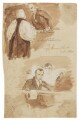 Bowyer Edward Sparke and other figures, by Sir George Hayter - NPG 2662(12)