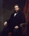 Charles Haddon Spurgeon, by Alexander Melville - NPG 2641