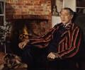 Sir John Collings Squire, by John Mansbridge - NPG 4110
