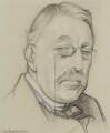 Sir Charles Villiers Stanford, by Sir William Rothenstein - NPG 4067