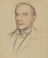 John St Loe Strachey, by Sir William Rothenstein - NPG 4795