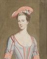 Henrietta Howard (née Hobart), Countess of Suffolk, attributed to John Harris, after a painting attributed to  Thomas Gibson - NPG 2451