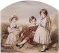 Swinburne and his sisters, by George Richmond - NPG 1762