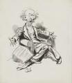 Algernon Charles Swinburne, by Harry Furniss - NPG 3611