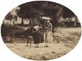 Mary Symons; Victoria-Alice Symons, by George Washington Wilson - NPG P22(15)