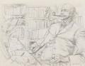 Richard Henry Tawney, by John Mansbridge - NPG 4258
