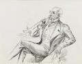 Sir John Tenniel, by Harry Furniss - NPG 3525