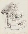 Sir John Tenniel, by Harry Furniss - NPG 3527