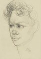 Dylan Thomas, by Mervyn Levy - NPG 4334